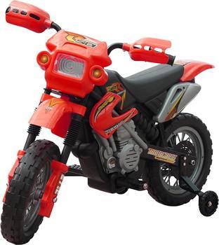 vidaXL Kinder Motorrad rot (80054)