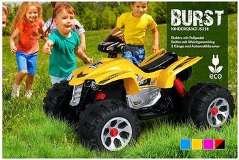 Actionbikes Kinder Elektro Quad Burst JS318 schwarz/rot