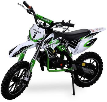 Actionbikes Kinder Mini Crossbike Gazelle 49 cc 2-takt grün