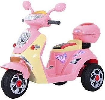 HomCom Electric Motobike 6V pink