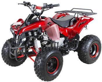 Actionbikes Kinder Quad ATV S-10 125 cc metallic rot
