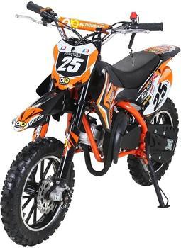 Miweba Kinder Mini Enduro Crossbike Gepard 49 cc 2 takt orange