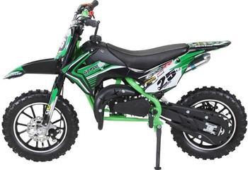 Miweba Kinder Mini Enduro Crossbike Gepard 49 cc 2 takt grün