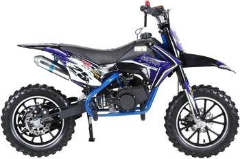 Miweba Kinder Mini Enduro Crossbike Gepard 49 cc 2 takt blau