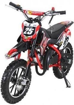 Miweba Kinder Mini Enduro Crossbike Gepard 49 cc 2 takt rot