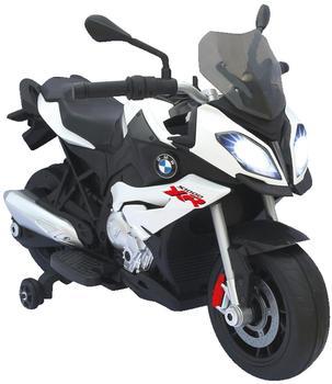 Jamara Ride-on Motorrad BMW S1000XR weiß 6V