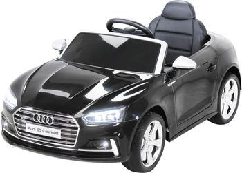 Miweba Elektroauto Audi S5 Cabriolet 2x45 W schwarz