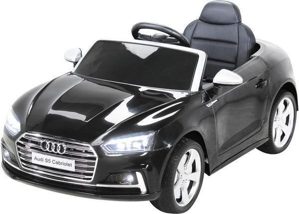 miweba elektroauto audi s5 cabriolet 2x45 w schwarz im test bei. Black Bedroom Furniture Sets. Home Design Ideas