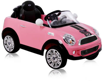 Rollplay Mini Cooper S Coupe 6V pink