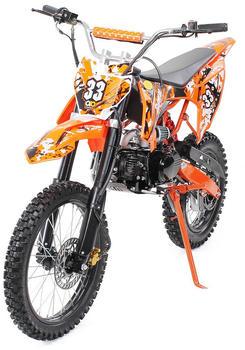 Miweba Jugend Crossbike 125 cc 17/14 orange