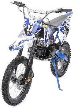 Miweba Jugend Crossbike 125 cc 17/14 blau