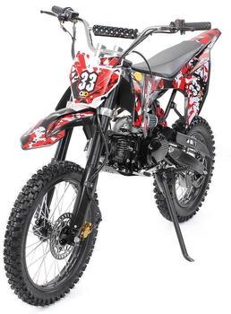 Miweba Jugend Crossbike 125 cc 17/14 schwarz