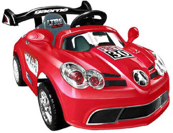Moni Elektro Kinderauto A088 mit Fernbedienung 6V Musikfunktion Heckspoiler rot