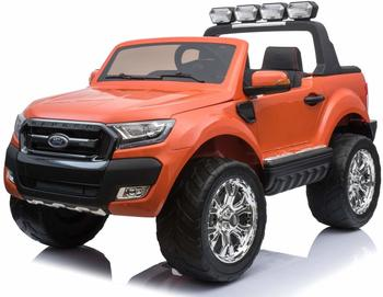 ES-Toys Kinderauto Ford Ranger, neues Modell 2x12V7AH orange