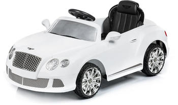Chipolino Kinder Elektroauto Bentley Continental GTC mit Fernbedienung,Mp3 weiß