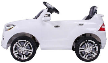 Moleo Elektroauto mit 2 Motoren weiß
