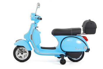 Miweba Vespa PX150 lizenziert 12V 7AH blau