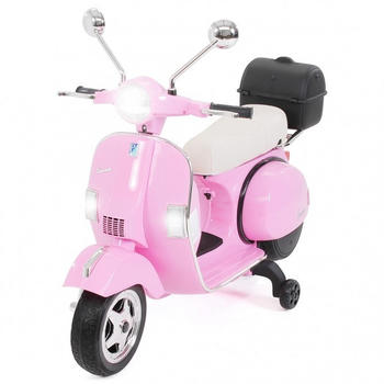 Miweba Vespa PX150 lizenziert 12V 7AH pink