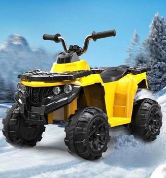 Toyas Elektroquad ATV gelb