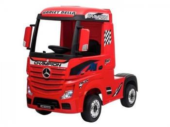 Toyas Kinder Elektroauto Mercedes-Benz Actros rot 12 V