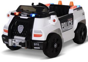 HOMCOM HomCom Police Vehicle with Remote Control MP3