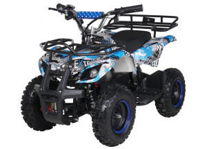 Actionbikes Miniquad Torino 1000 W blau