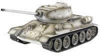 Torro Panzer T34/85 RTR Metall Edition mit Schussfunktion, Rauch und Sound Schneetarn (1111900401)