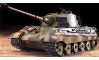 Heng Long Panzer Deutscher Königstiger Henschelturm RTR mit Schußfunktion, Rauch und Sound (ET3679)