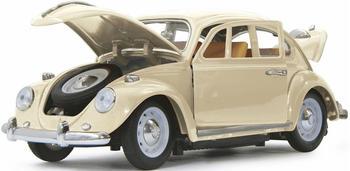Jamara VW Käfer 1:18 RC Diecast creme weiß 40MHz (405111)