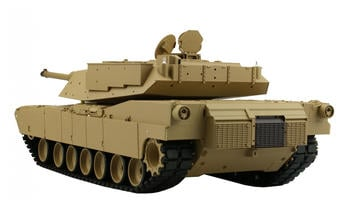 Amewi Panzer U.S. M1A2 R&S 1:16, MG, QC, 2,4GHz (23076)