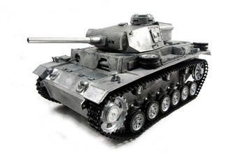Amewi Panzer III, Metall 1:16, True Sound (23079)