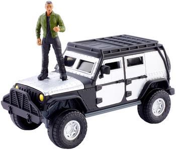 Mattel GmbH Fast & Furious Stunt Stars Tej & Jeep Wrangler Rubicon Vehicle
