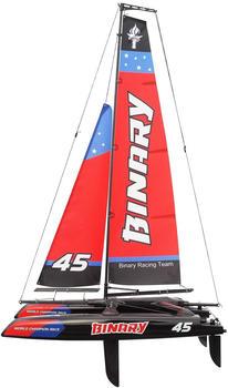 Amewi Binary Catamaran Sailboat 40 cm 2,4 GHz (26059)