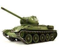 Heng Long Panzer Russischer T-34/85 RTR mit Schussfunktion, Rauch und Sound (ET4786)