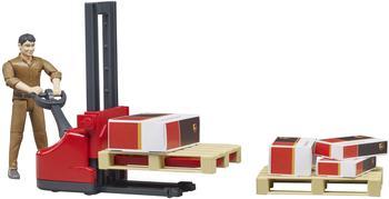 Bruder Figurenset UPS Logistik