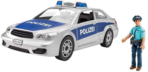 Spielzeugautos Revell 00820 Polizei mit Figur Bausatz
