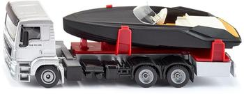 Siku Spielwaren MAN LKW mit Motorboot