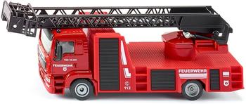 Siku Spielwaren MAN Feuerwehr Drehleiter
