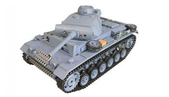 Amewi Panzerkampfwagen III R&S 1:16, QC, 2,4GHz (23063)