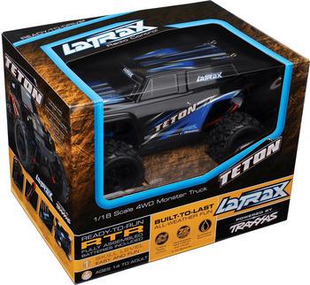 Traxxas LaTrax Teton 1/18 Scale 4WD Monster Truck (76054-1blue)