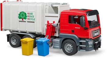 Bruder MAN TGS Seitenlader Müll LKW