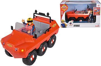 SIMBA 109251051 - Feuerwehrmann Sam, Hydrus, Amphibienfahrzeug, Fahrzeug