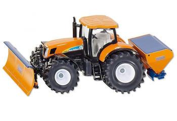 SIKU Sieper SIKU Spielwaren Traktor mit Räumschild und Salzstreuer 1:50