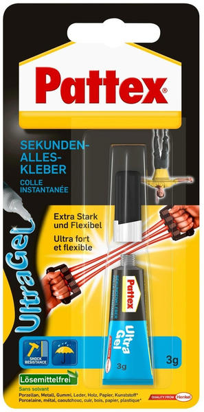 Pattex Ultra Gel 3 g (PSG12)