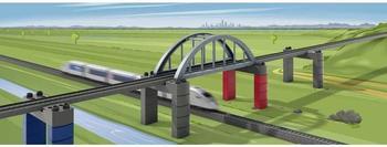 Märklin my world - Baustein-Set Hochbahn-Brücke (72218)