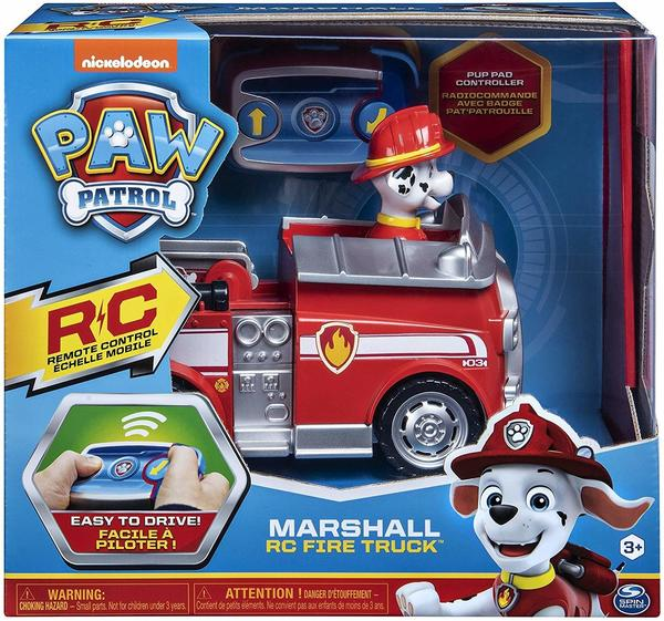 Spin Master Paw Patrol Marshall RC Fire Truck