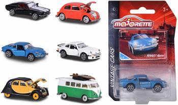 dickie-majorette-212052010-vintage-assortment-miniaturfahrzeuge-die-cast-6-versch-modelle-7-5cm