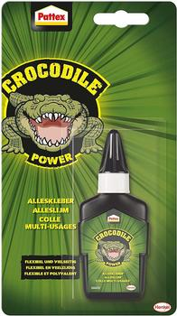 Pattex Crocodile Power Alleskleber transparent 50g
