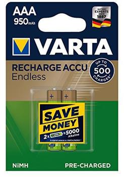 Varta Recharge Accu Endless AAA 950mAh (2 St.)