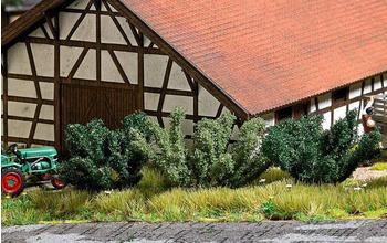 Busch 6060 H0 5 Frühlingsbüsche,
